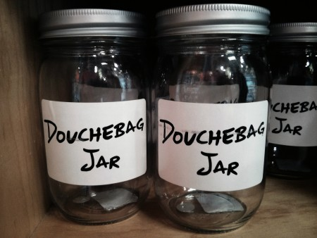 Douchebag Jar